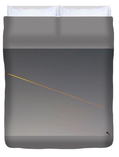 Streetlight Duvet Cover by Mark Alan Perry