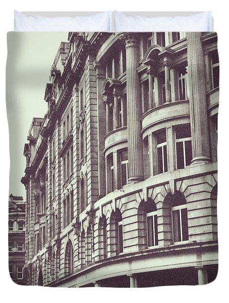 Streets Of London Duvet Cover