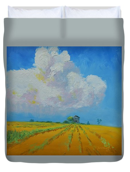 Strength For The Journey Ahead Duvet Cover by Sue Furrow