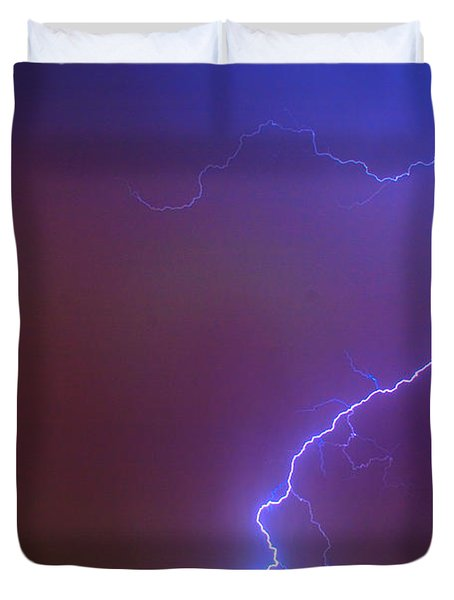 Striking Out Duvet Cover by James BO  Insogna