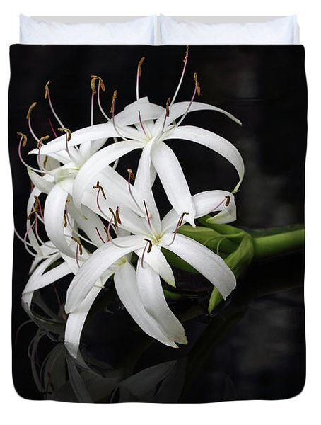 String Lily #1 Duvet Cover