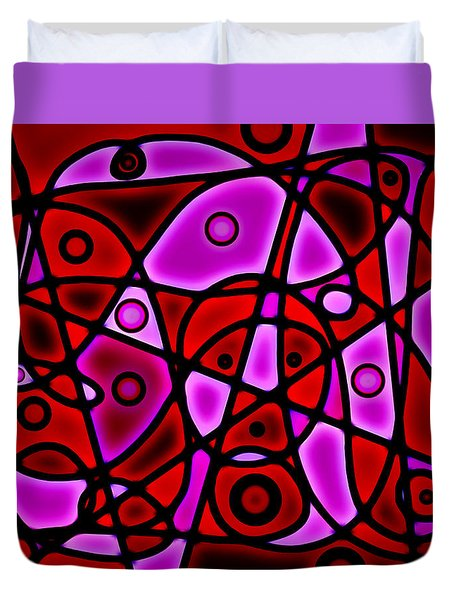 Stringalong Duvet Cover