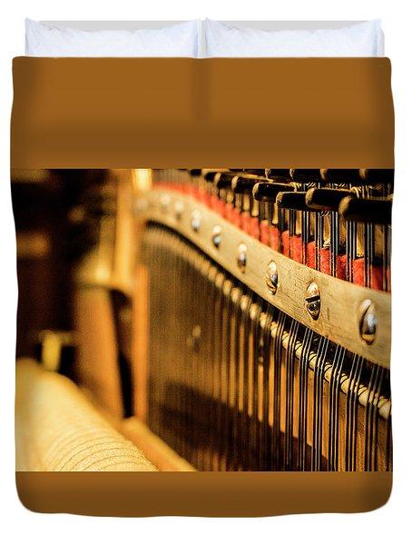 Strings Duvet Cover