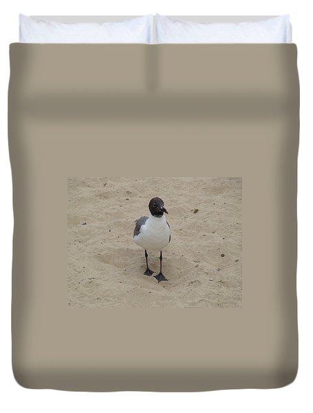 Struttin' Seagull  Duvet Cover
