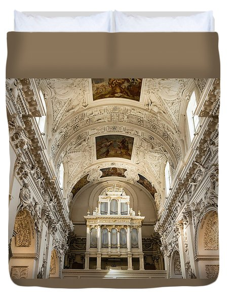Sts Peter And Paul Church Interior Duvet Cover