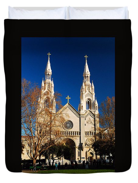 Sts Peter And Paul Duvet Cover