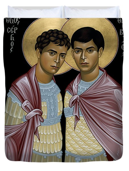 Sts. Sergius And Bacchus - Rlsab Duvet Cover
