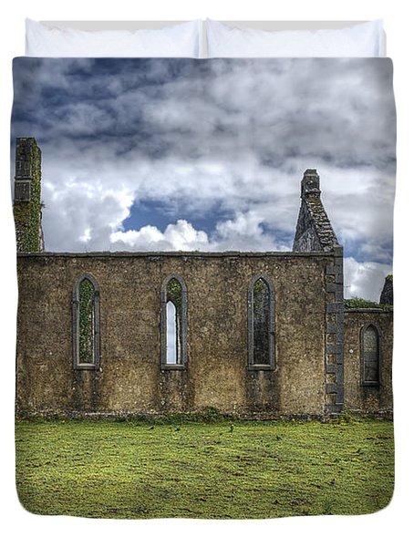 Stthomas Church In Aran Islands, Inis Mor Duvet Cover