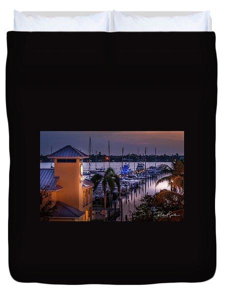Stuart Harbor Duvet Cover