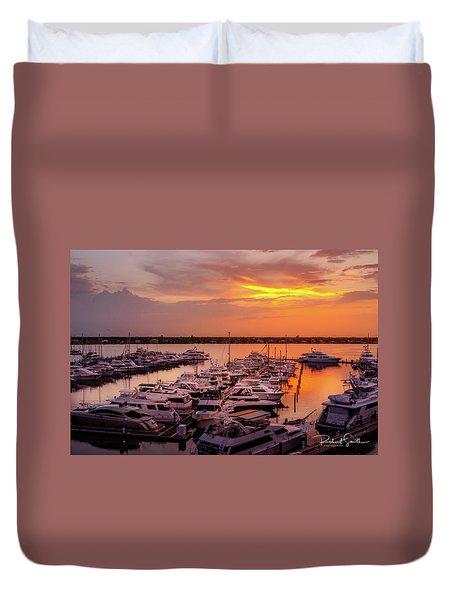 Stuart Sunset Duvet Cover
