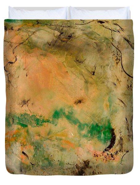 Under The Lemon Tree Duvet Cover