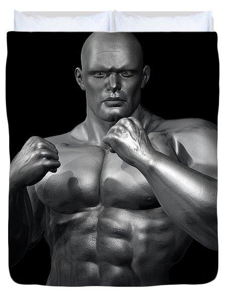 Studio Man Render Series 28 Duvet Cover