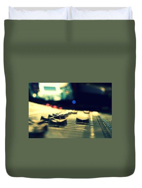 Studio Moments - Faders Duvet Cover