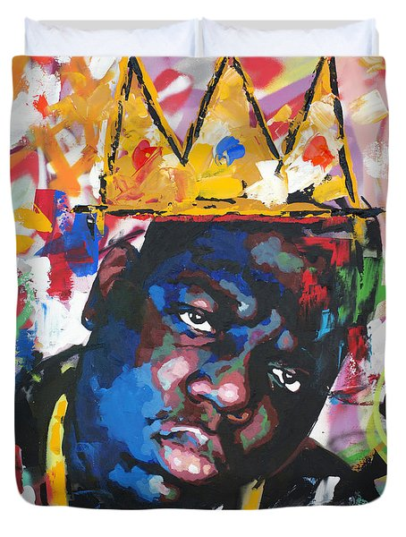 Biggie Smalls Duvet Cover