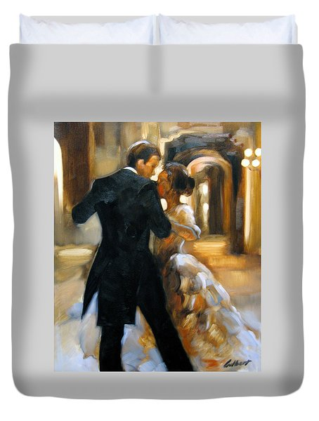 Study For Last Dance 2 Duvet Cover