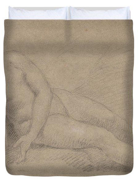 Study Of A Female Nude Duvet Cover