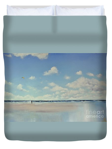 Study Of Blue Nr 1 Duvet Cover