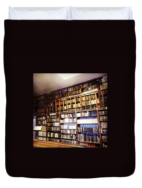 Book Heaven  Duvet Cover