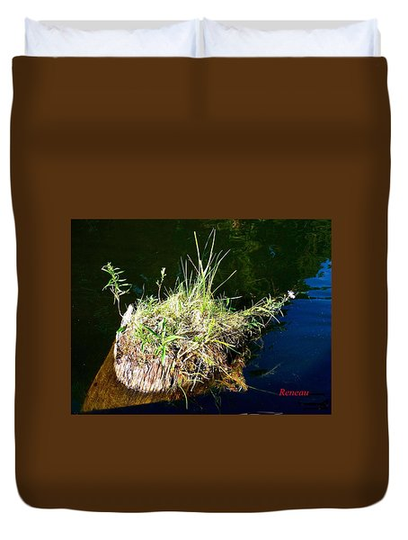 Stump Art 11 Duvet Cover by Sadie Reneau