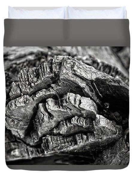 Stump Texture Duvet Cover