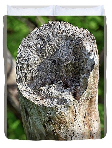 Stumped Duvet Cover