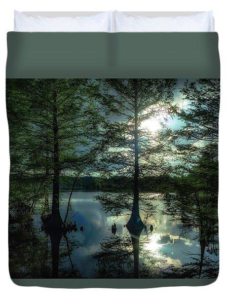 Stumpy Lake Duvet Cover