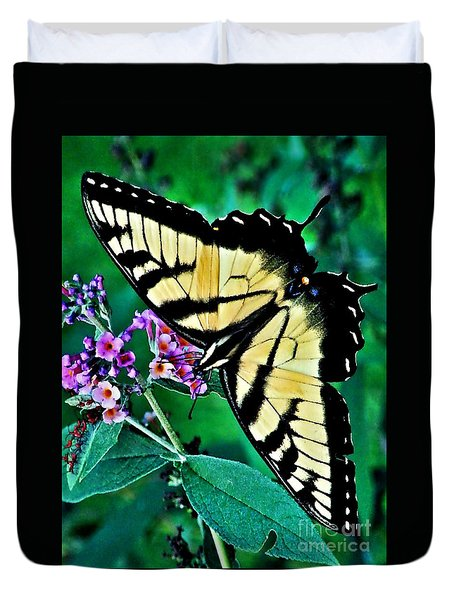 Stunning Monarch Duvet Cover