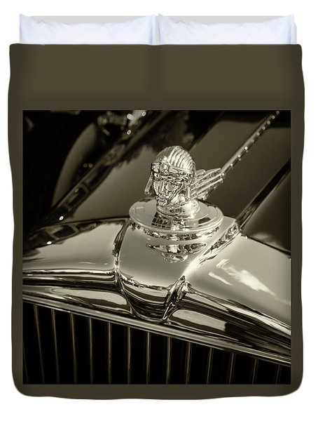 Stutz Hood Ornament Duvet Cover