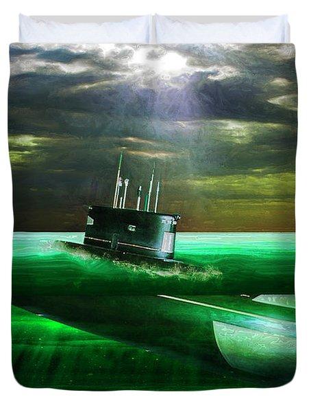 Submarine Duvet Cover