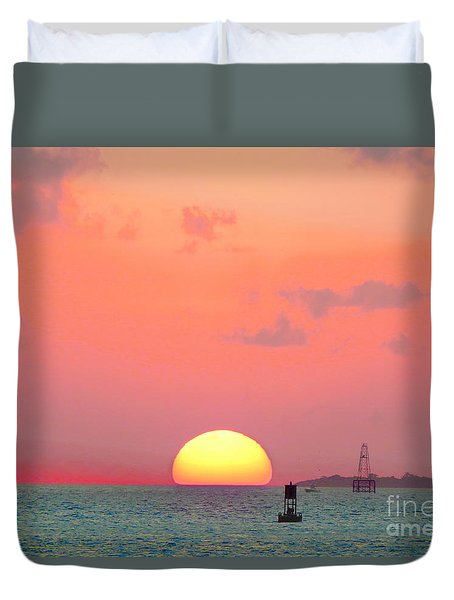 Submerge  Duvet Cover by Expressionistart studio Priscilla Batzell