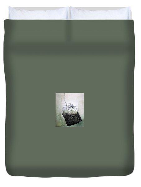 Submerged Tea Bag Duvet Cover