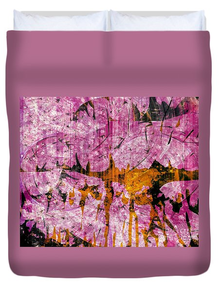 Submit A Dance   Duvet Cover by Fania Simon