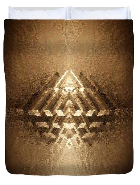 Subtle Geometrix Duvet Cover