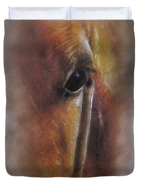 Subtle Horse Duvet Cover