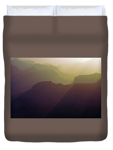Subtle Silhouettes Duvet Cover