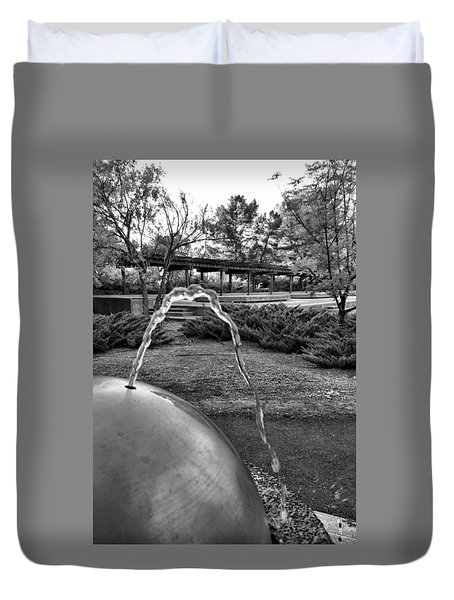 Suburban Thirst Quencher Duvet Cover