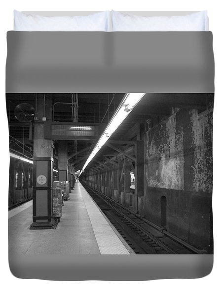 Subway At Grand Central Duvet Cover