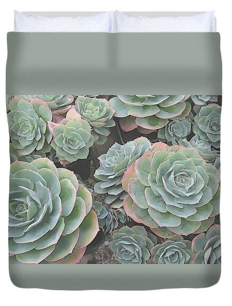 Succulent 2 Duvet Cover