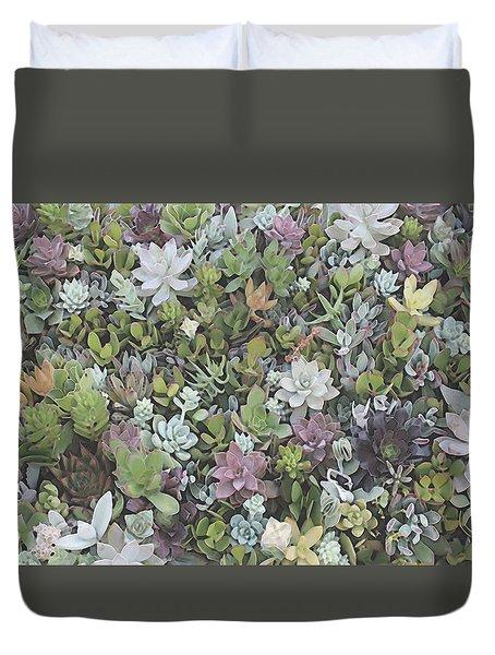 Succulent 8 Duvet Cover