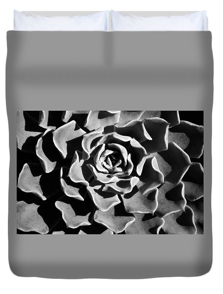 Duvet Cover featuring the photograph Succulent Extrem  by Catherine Lau
