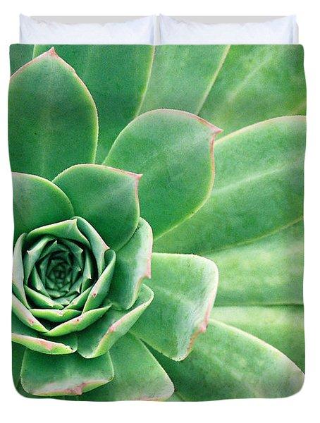 Succulents II Duvet Cover