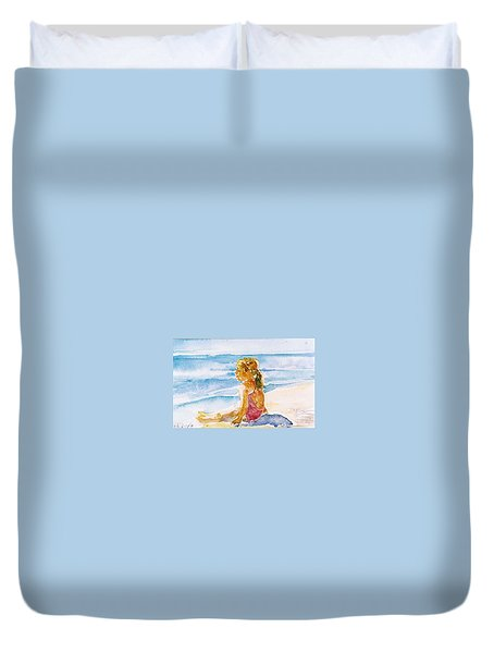 Such A Perfect Day  Duvet Cover by Trudi Doyle