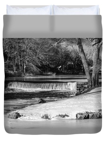 Duvet Cover featuring the photograph Sucker Brook At Griffin Dam by Betty Denise