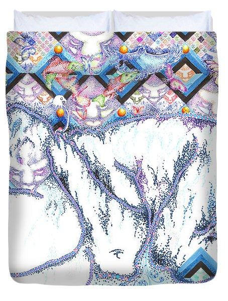 Suenos De Invierno Winter Dreams Duvet Cover