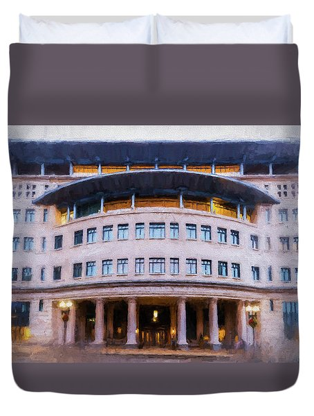 Suffolk Law School Duvet Cover
