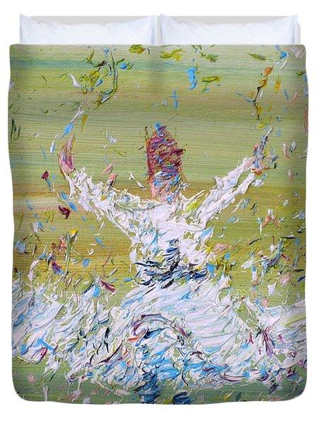 Sufi Whirling Duvet Cover