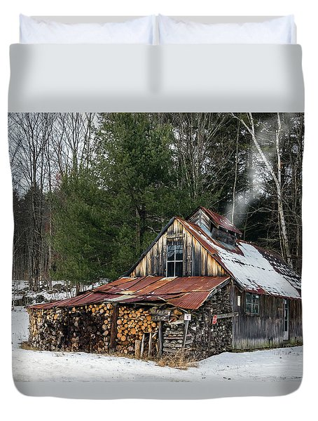 Sugar King's Smokehouse Duvet Cover
