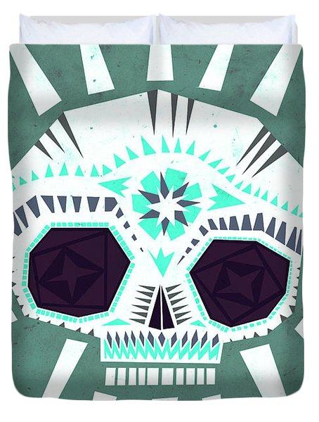 Sugar Skull IIi Duvet Cover