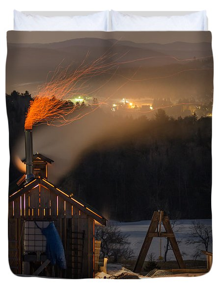Sugaring View Duvet Cover by Tim Kirchoff