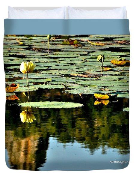 Sugarloaf Reflection Duvet Cover